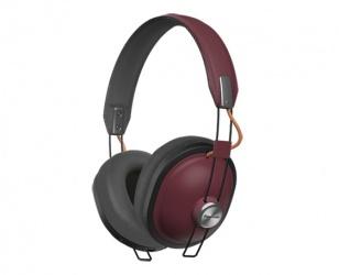 Panasonic Audífonos con Micrófono RP-HTX80BPPR, Bluetooth, Inalámbrico, Rojo