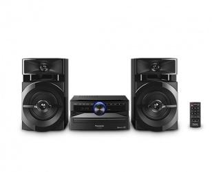 Panasonic SC-AKX110 Mini Componente, Bluetooth, 300W RMS, 3300W PMPO, USB, Negro