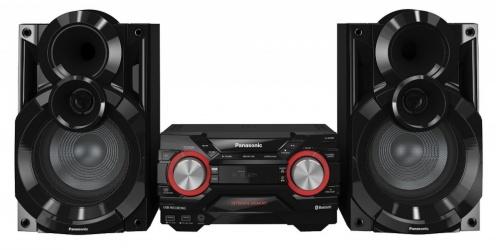 Panasonic SC-AKX400 Mini Componente, Bluetooth, 600W RMS, USB 2.0, Negro