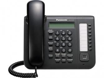 Panasonic Teléfono Alámbrico de 1 Línea KX-DT521X, Digital, Altavoz, Negro