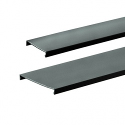 Panduit Cubierta para Ducto, 3'' x 6', PVC, Negro