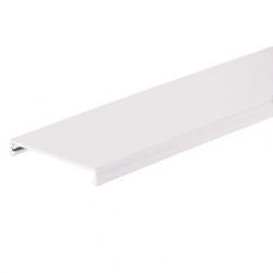 Panduit Cubierta para Ducto, 3'' x 6', PVC, Blanco