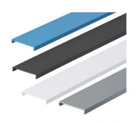 Panduit Cubierta para Ducto, 4'' x 6', PVC, Azul
