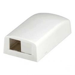 Panduit Caja Mini-Com de 2 Puertos, Blanco