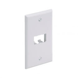 Panduit Placa para Pared 2 Puertos, Blanco
