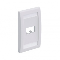 Panduit Placa Minicom CFPE2WHY, 2 Ventanas, Blanco