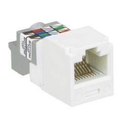 Panduit Jack Cat6, RJ-45, Blanco
