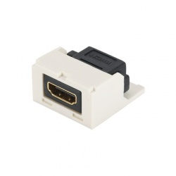Panduit Adaptador Mini Com Macho - HDMI Macho, Blanco