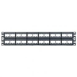 Panduit Panel de Parcho Modular para Rack de 19'', 2U, 48 Puertos