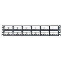 Panduit Panel de Parcheo con Etiquetas, incluye 12 Placas Frontales para 48 Puertos