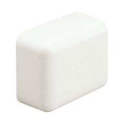 Panduit Tapa de Plástico para Canaleta LD3 Bajo Voltaje, Blanco, 20 Piezas