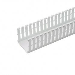 Panduit Ducto Ranurado Tipo F, 2'' x 3'' x 6', PVC, Blanco