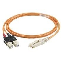 Panduit Cable de Fibra Óptica SC Macho - SC Macho, 2 Metros