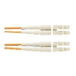 Panduit Cable Fibra Óptica OFNR LC Macho - LC Macho, 3 Metros, Naranja