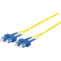 Panduit Cable de Fibra Óptica OS2 SC Macho - SC Macho, 2 Metros, Amarillo