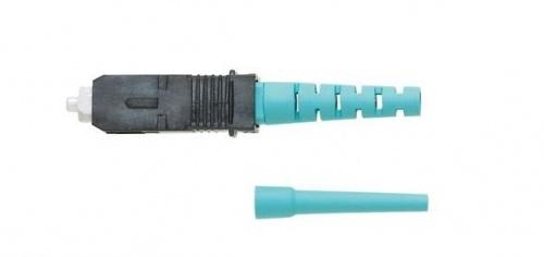 Panduit Conector Fibra Óptica SC Multimodo, Aqua