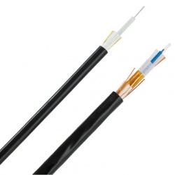 Panduit Cable Central para Interiores/Exteriores de 12 fibras OS2, 9/125, Monomodo, Clasificado Riser