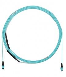 Panduit Cable Fibra Óptica Multimodo OM3 125µm PanMPO - PanMPO, 5 Metros, Aqua