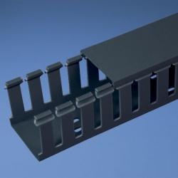 Panduit Ducto Tipo G de Ranuras Anchas, 4'' x 4'' x 6', PVC, Negro