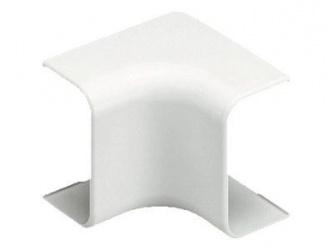 Panduit Esquina Plástica Interior para Canaleta LD3 Bajo Voltaje, Blanco, 20 Piezas