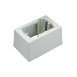Panduit Caja de Salida Profunda para Pan-Way, Blanco