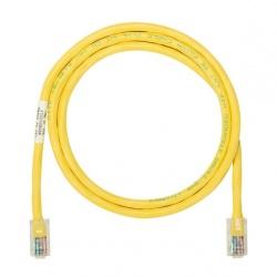Panduit Cable Patch Cat5e UTP RJ-45 Macho - RJ-45 Macho, 1.52 Metros, Amarillo