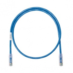 Panduit Cable Patch NetKey Cat6 UTP, RJ-45 Macho - RJ-45 Macho, 3.05 Metros, Azul