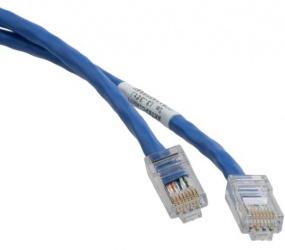 Panduit Cable Patch Cat6 UTP RJ-45 Macho - RJ-45 Macho, 9.1 Metros, Azul