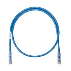 Panduit Cable Patch Cat6 UTP RJ-45 Macho - RJ-45 Macho, 91cm, Azul