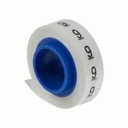 Cinta Panduit Impresa para Despachador PMD09, con el Número 9, 2.4 Metros, Blanco