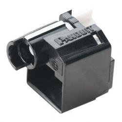 Panduit Inserto Ciego RJ-45, Negro, 10 Piezas