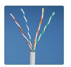 Panduit Bobina de Cable Cat5e UTP, 4-Pares, 24 AWG, 305 Metros, Blanco
