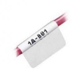 Panduit Etiquetas S100X125YAJ, Inyección de Tinta, 2.5 x 3.1cm, 2500 Etiquetas, Blanco/Transparente