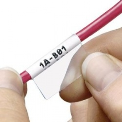 Panduit Cassette de Etiqueta Autolaminable P1, 1'' x 1.5'', 200 Etiquetas, Blanco