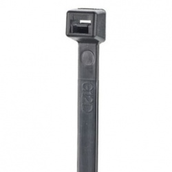 Panduit Cintillo S12-40-C0, 30cm, Negro, 100 Piezas