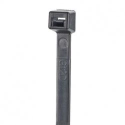 Panduit Cintillo S15-40-C0, 37cm, Negro, 100 Piezas