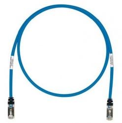 Panduit Cable Patch Cat6a STP RJ-45 Macho - RJ-45 Macho, 7.62 Metros, Azul