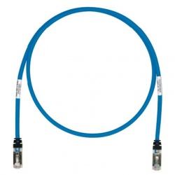 Panduit Cable Patch Cat6 S/FTP, RJ-45 Macho - RJ-45 Macho, 1.52 Metros, Azul