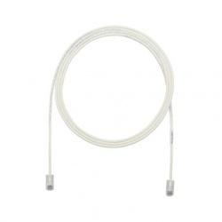 Panduit Cable Patch Cat6a FTP RJ-45 Macho - RJ-45 Macho, 30cm, Blanco