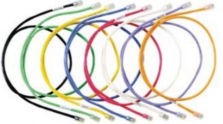 Panduit Cable Patch Cat6a FTP RJ-45 Macho - RJ-45 Macho, 20cm, Blanco