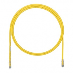 Panduit Cable Patch Cat6a UTP RJ-45 Macho - RJ-45 Macho, 4.27 Metros, Amarillo