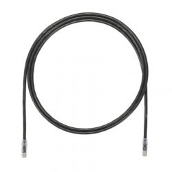 Panduit Cable Patch Cat6a UTP RJ-45 Macho - RJ-45 Macho, 90cm, Negro