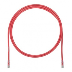 Panduit Cable Patch Cat6a UTP, RJ-45 Macho - RJ-45 Macho, 90cm, Rojo