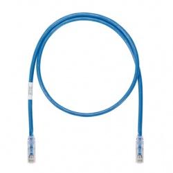 Panduit Cable Patch Cat6a UTP RJ-45 Macho - RJ-45 Macho, 19 Metros, Azul