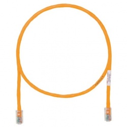 Panduit Cable Patch Cat5e UTP RJ-45 Macho - RJ-45 Macho, 3 Metros, Naranja