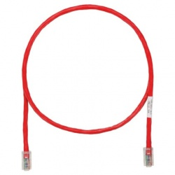 Panduit Cable Patch Cat5e UTP, RJ-45 Macho - RJ-45 Macho, 3.05 Metros, Rojo