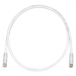 Panduit Cable Patch Cat6 UTP, RJ-45 Macho - RJ-45 Macho, 3.05 Metros, Blanco