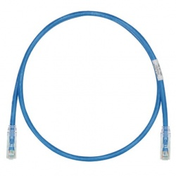 Panduit Cables Patch Cat6 UTP RJ-45 Macho - RJ-45 Macho, 30cm, Azul