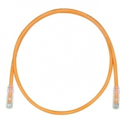 Panduit Cable Patch Cat6 UTP RJ-45 Macho - RJ-45 Macho, 1.52 Metros, Naranja