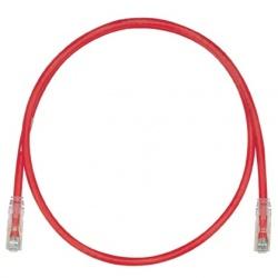 Panduit Cable Patch Cat6 UTP, RJ-45 Macho - RJ-45 Macho, 1.52 Metros, Rojo